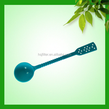 2015 unique style high technology color changing plastic table spoon