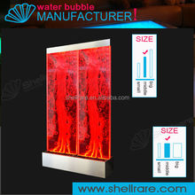 Color changing light for indoor and outdoor decoration, acrylic panel water fountain