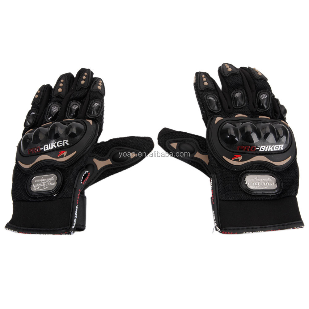 2xPro-Biker Bike Motorcycle Motorbike Racing Biker Gloves Full M