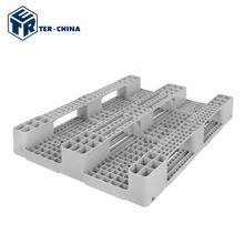 Stackable Metal Recycle Plastic Pallet With Wheels Made In China