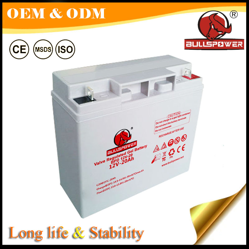 12v 26ah deep cycle solar battery solar inverter battery silicone gel battery