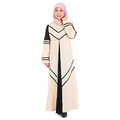 Euramerican style abaya 2017 latest muslim dress