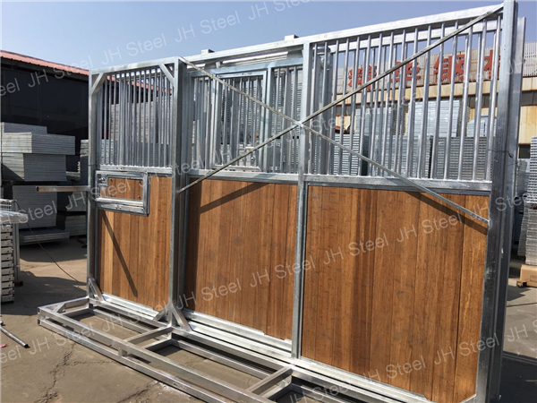 Galvanized Affordable Bamboo Box Horse Stable Fronts