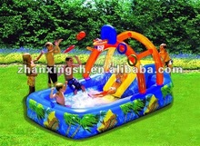 newly designed Inflatable floating pool bar for kids playing