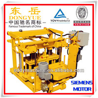 QT40-3A low cost egg laying animal feed block making machine