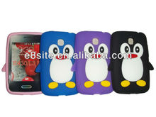 Penguin Silicone Case For LG Optimus L3 II Dual E435 E430