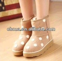 C60664A THE WINTER COLORFUL STYLE FOR WOMEN'S THICK SNOW BOOTS