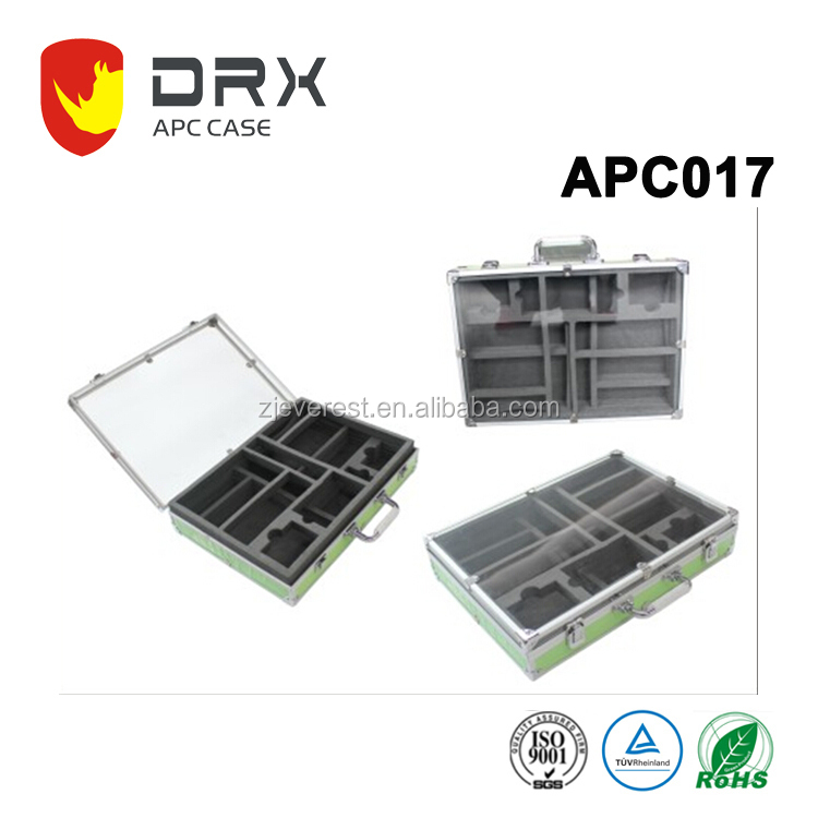 customized portable Aluminum storage box aluminum tool box