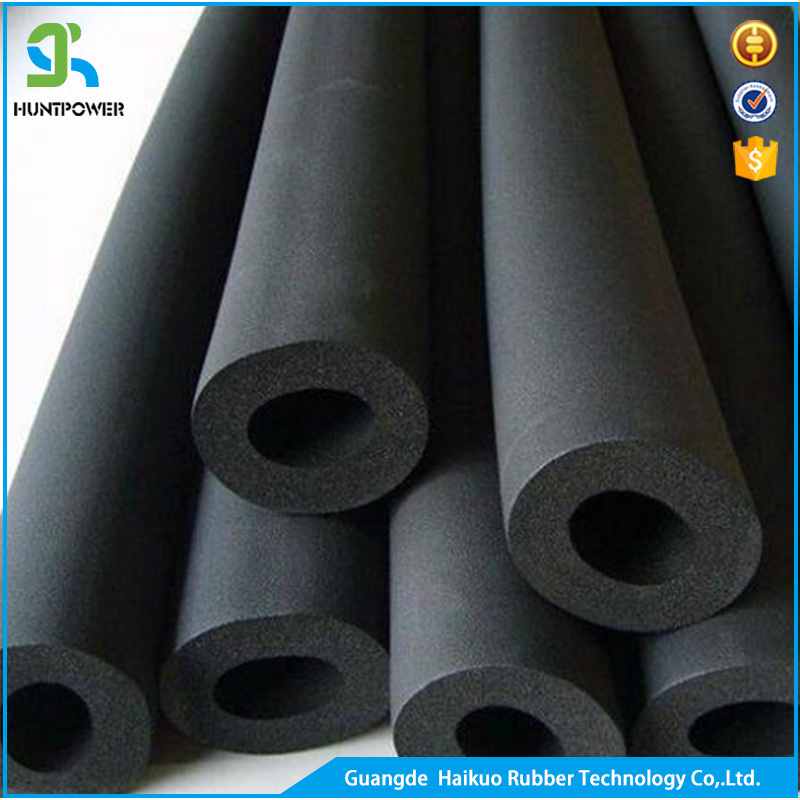 Heat Resistant Flexible Color Soft Cell EPDM & NBR/PVC Rubber Foam Pipe Insulation Tube