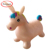 RUNYUAN Pink Unicorn,Inflatable Jumping unicorn,Jumping Horse