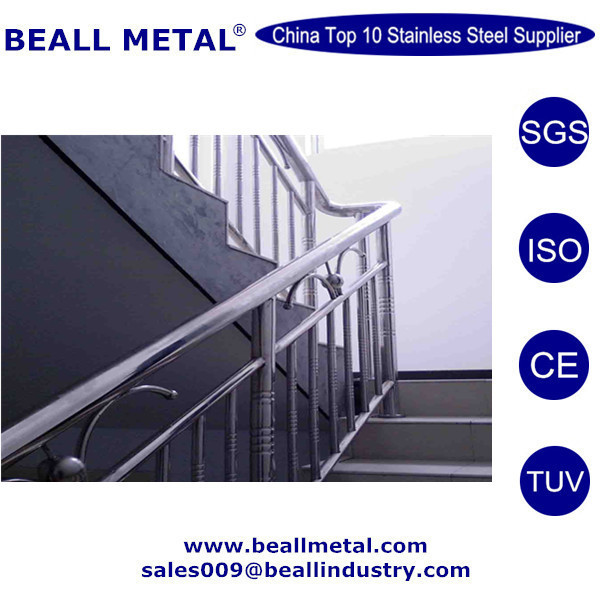 304 316 stainless steel pipe stair handrail plastic cover manufacturer