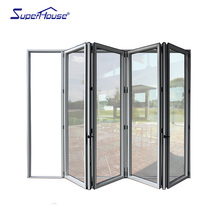 Heavy Duty Easy Operating Onitek Bifold Doors Aluminum Bifold Shower Doors