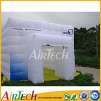 Hot sale outdoor inflatable winter tent cube for event