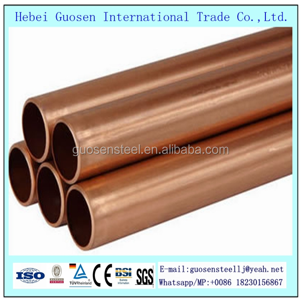 Guosen new design brass coil /copper pipe /copper tube for wholesales