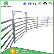 Cheap 1.8 m high 6 rails Horse and Cattle Yard Panels