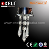 2015 new design crystal pendant ceiling light led crystal light