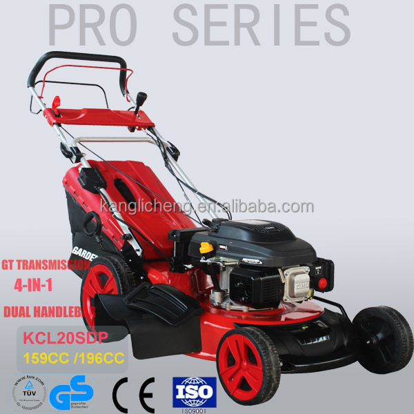 "20"" 196cc walk behind lawn mower with GT transmission(KCL20SDP)"