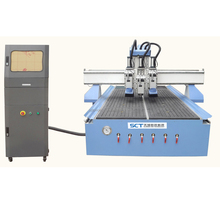 Hot Sale SCT W2030 Wooden Doors Board Arts Multi-heads CNC Router