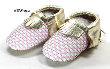 babymoccasins genuine leather classic moccasin pink