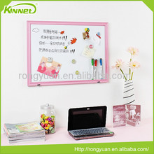 Shool supply cute indoor flexible white paper mdf writing board