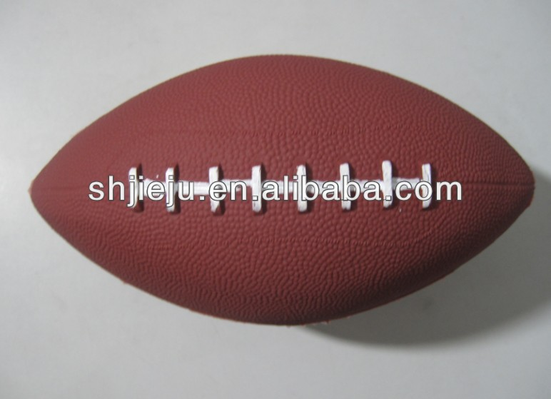 PVC American <strong>football</strong>/rugby ball/ Inflatable Toy Rugby(factory) for kids game,Grey color