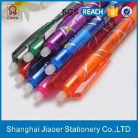 High tech ballpoint erasable pen ink refill types(X-8808)