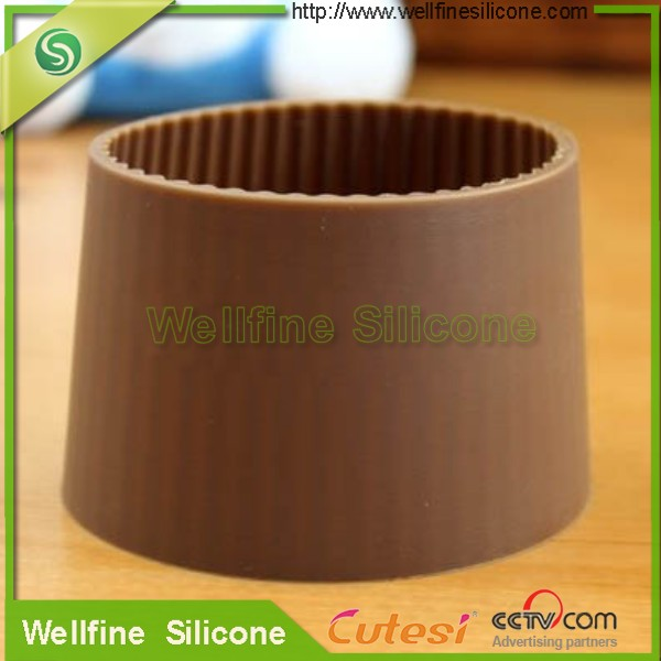 Best price reusable silicone coffee cup sleeve/ custom silicone coffee cup sleeve