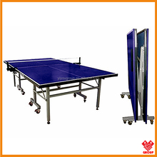 Adults Foldable Height-density fiberboard table tennis table/16mm table tennis table price/indoor moveable table tennis table