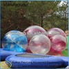 Flashing glitter bouncing colorful water ball