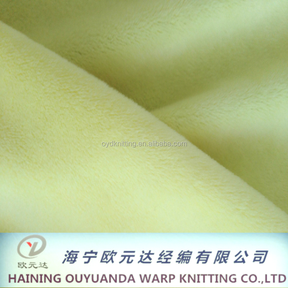 Western Textile Fabric 100% Polyester Crystal Super Soft Velvet for Plush toys/Pillow/Blankets