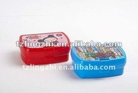 2012 NEW STYLE HOT SALE plastic Cartoon lunch box
