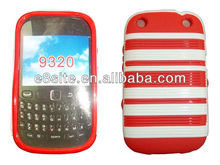For Blackberry Curve 9320 9220 Stylish TPU Combo Case