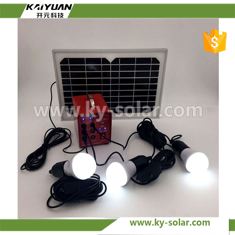 House small system smart solar power system with Off Grid Solar Kit