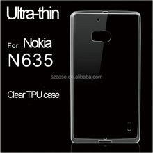 New Products Clear TPU Case For Nokia lumia 635 N635 Cover, Mobile Phone Case For Nokia lumia 635 N635