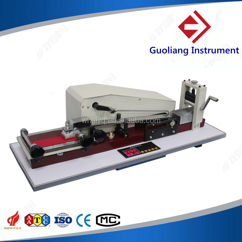 Leather/knit rubbing color fastness testing equipment