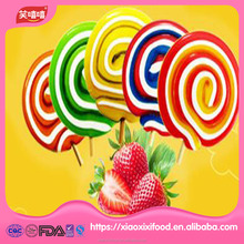 china swirl lollipop gummy candy jelly candy