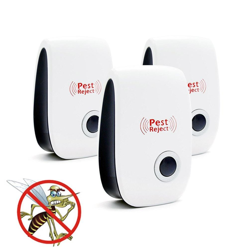 Amazon hot selling High quality electric mosquito killers repellent lamp ultrasonic pest repeller