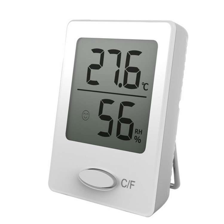 2018 new desk thermometer hygrometer clock
