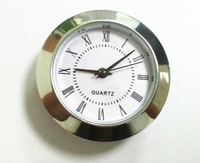 38mm mini watch insert battery clock inserts