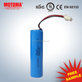 18650 rechargeable lithium battery 3.7V 2000mAH