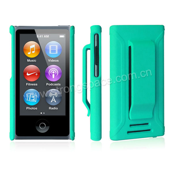 Green New Cases for the 7th-Gen iPod Nano With Clip