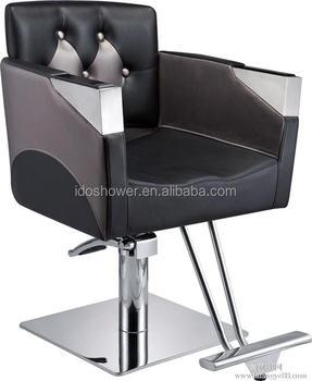 Latest design modern white hair salon chairs for sale for Modern salon chairs for sale