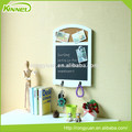 office supplies multi-function decorative magnetic memo board with hooks