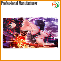 AY Anime Sexy Girl Foam Yugioh Playmat Ass Mouse Pad Rubber Play Mat Material