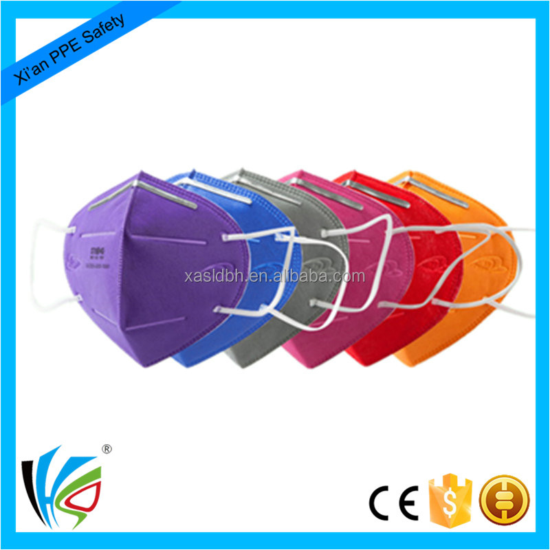 Colorful Protective Dust Mask Anti PM2.5 Air Pollution Face Mask