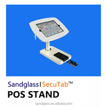 Lockable android tablet enclosure stand for mobile POS,for iPad POS,android tablet POS