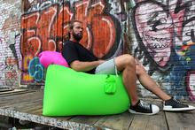 Hangout rápido Inflable Bean Bag 2016 cambiador bolsa laicos chillbag airbeds sofá inflable sofá inflable del aire exterior establece