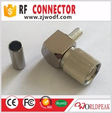 High quality China supplier 1.6/5.6 Male plug right angle for BT3002 connector