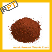 red color concrete for pigment