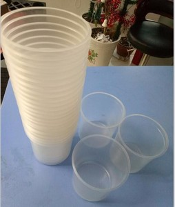 factory wholesale 600/650ml plastic cup liner and lid with filter for auto body care, hot selling plastic paint cups
